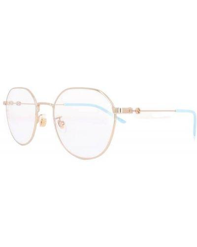 Okulary - różowe Gucci