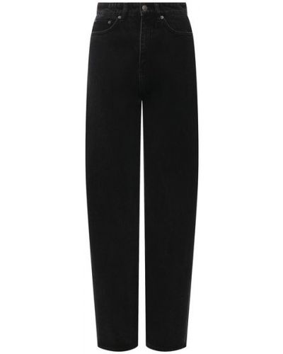 Хлопковые джинсы - черные Ksubi