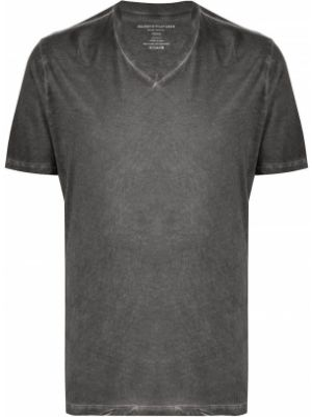 Koszula krótkie z krótkim rękawem prosto z dekoltem w szpic Majestic Filatures