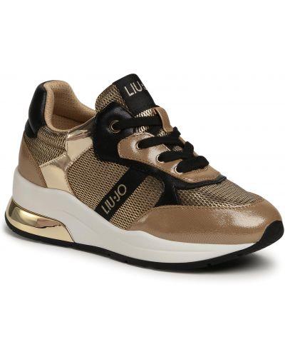 Sneakersy, żółty Liu Jo