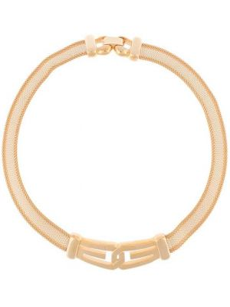 Золотистый чокер золотой металлический позолоченный Givenchy Pre-owned