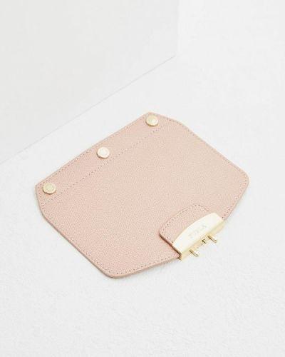 Розовый ремень Furla