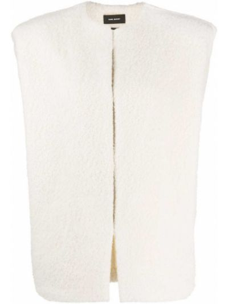 Белый хлопковый пиджак Isabel Marant