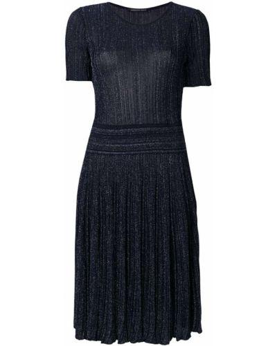 Платье мини плиссированное Antonino Valenti