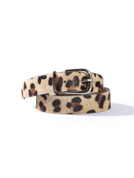 Ремень леопардовый с пряжкой La Redoute Collections