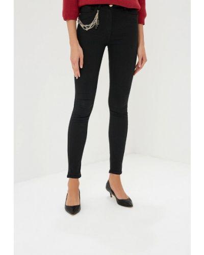 Черные джинсы-скинни Elisabetta Franchi