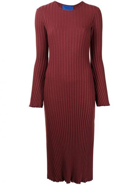 Sukienka midi prążkowana Simon Miller
