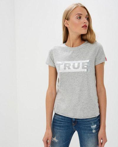 Серая футболка True Religion