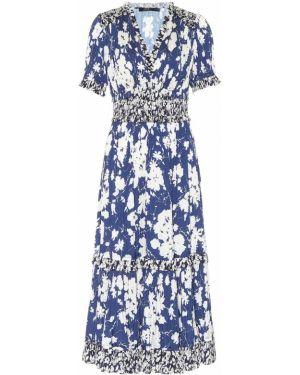 Платье мини миди с цветочным принтом Polo Ralph Lauren