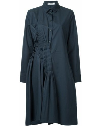 Платье миди платье-рубашка с длинными рукавами Jil Sander