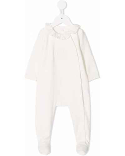 Пижама белая с воротником Chloé Kids
