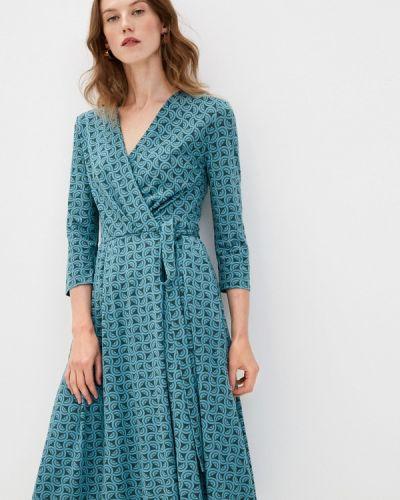 Повседневное зеленое платье Weekend Max Mara