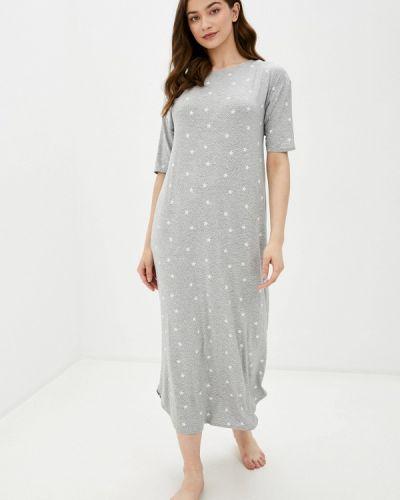 Домашнее серое платье Marks & Spencer