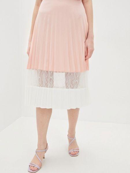 Плиссированная юбка розовая весенняя Nothing But Love