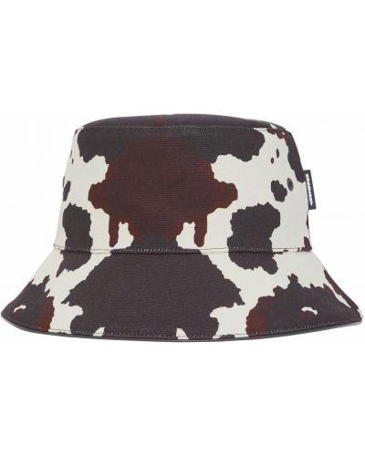 Brązowa czapka bawełniana Burberry