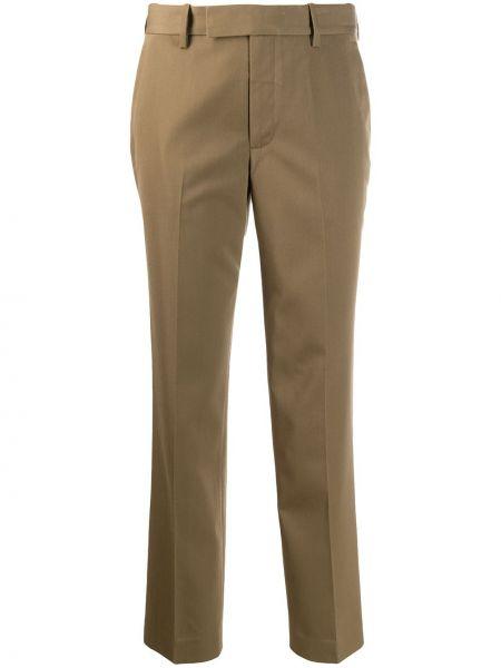 Брюки с завышенной талией брюки-сигареты узкого кроя Helmut Lang