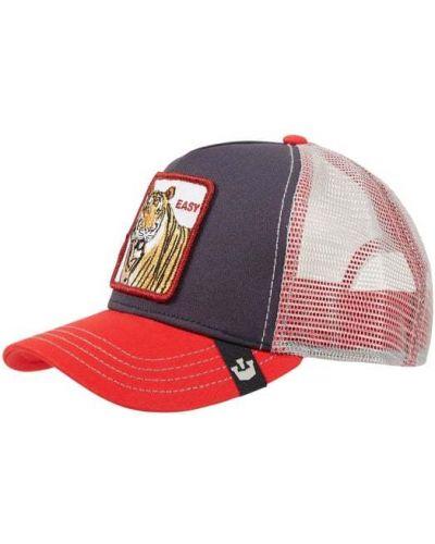 Niebieska czapka bawełniana Goorin Bros