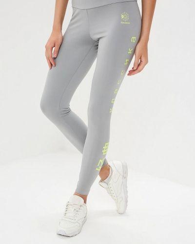 Классические брюки серые весенний Reebok Classics
