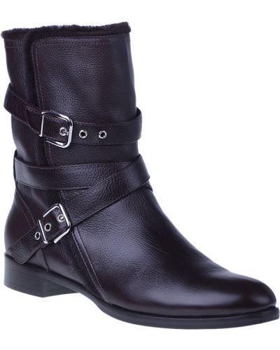 Кожаные ботинки - коричневые Gianvito Rossi