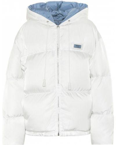 Зимняя куртка стеганая плюшевая Prada