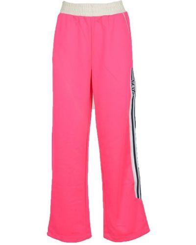Różowe spodnie Gcds