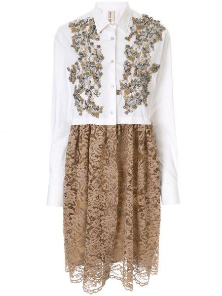 Платье на пуговицах платье-рубашка Antonio Marras