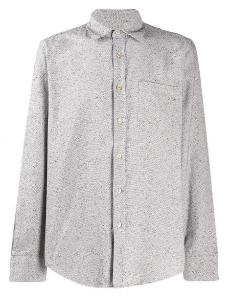 Классическая фланелевая классическая рубашка с воротником с вышивкой Portuguese Flannel