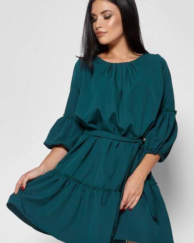 Платье прямое осеннее Karree