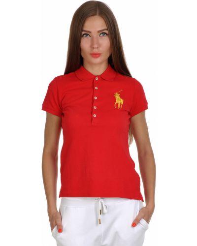 Красное поло Ralph Lauren