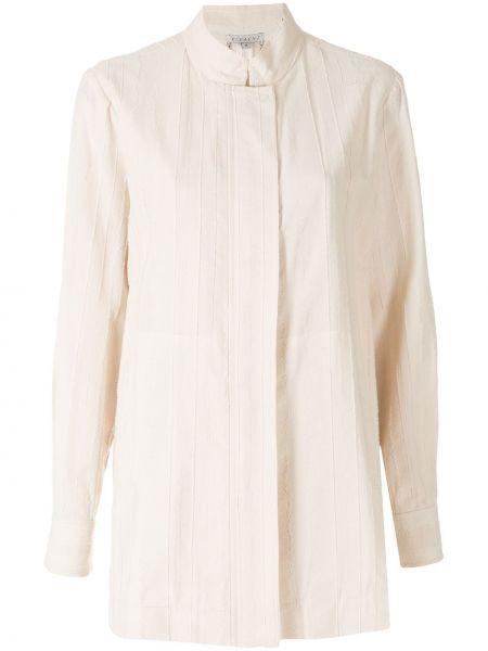 Прямой удлиненный пиджак с поясом с воротником-стойка Alcaçuz