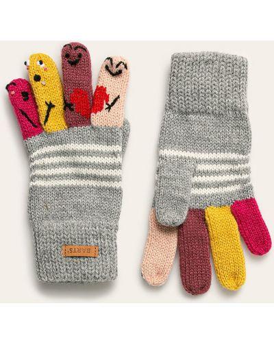 Перчатки серый Barts