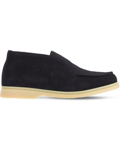 Кожаные ботинки Loro Piana