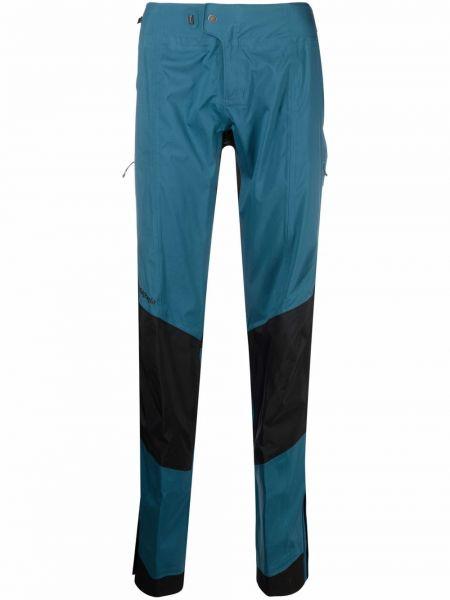 Czarne spodnie z wysokim stanem z nylonu Patagonia