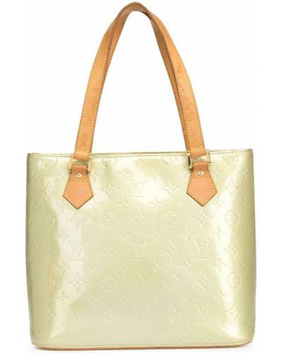 Zielona torebka skórzana Louis Vuitton