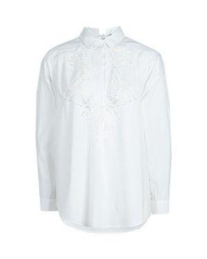 Блузка - белая Ermanno By Ermanno Scervino