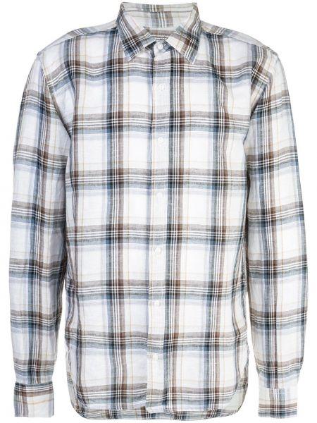 Классическая рубашка хаки на пуговицах Save Khaki United