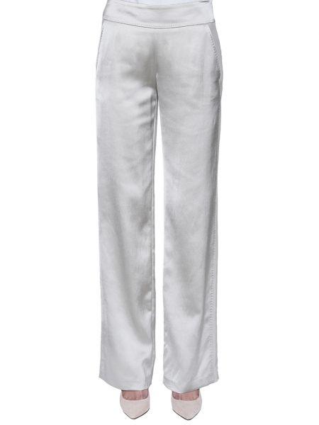 Шерстяные брюки - бежевые Rene Lezard