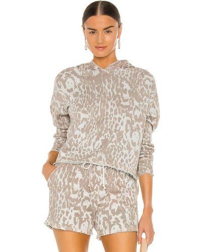 Укороченный пуловер - белый Chaser