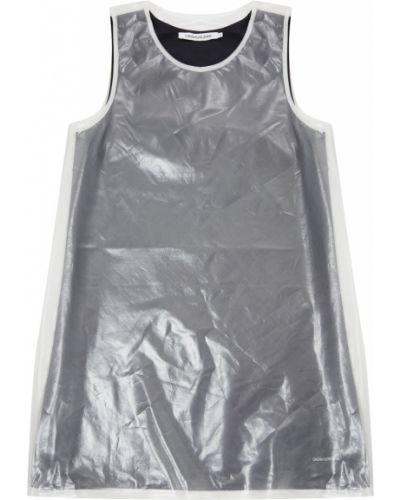 Платье мини на бретелях из органзы Calvin Klein