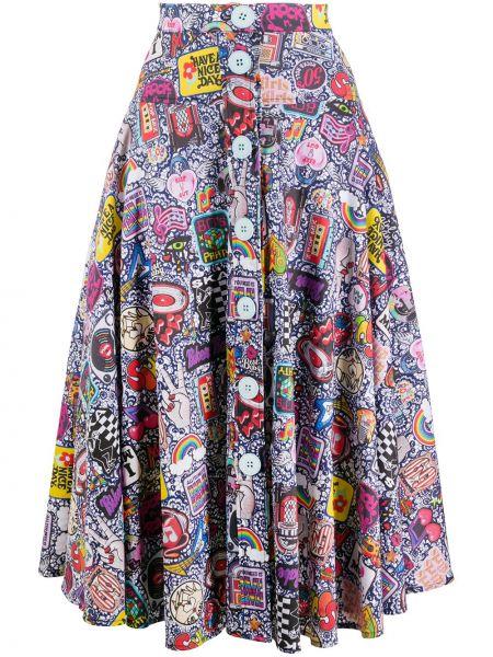 Różowa spódnica bawełniana Ultrachic