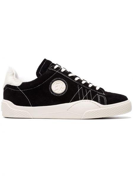 Sneakersy zamszowe czarne Eytys