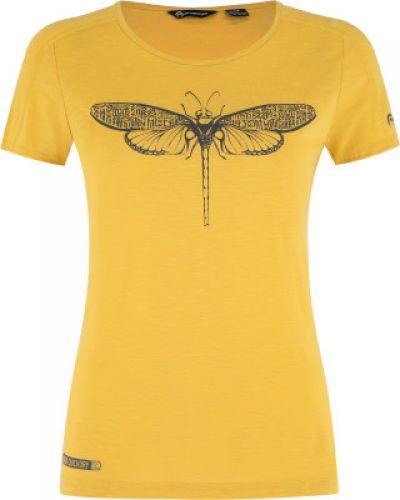 Прямая желтая футболка Outventure