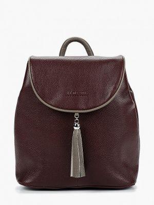 Рюкзак бордовый красный Franchesco Mariscotti