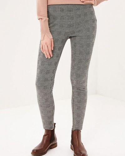 Серые брюки повседневные Only
