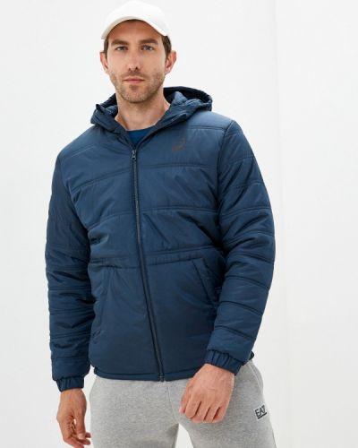 Утепленная куртка - синяя Asics