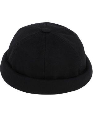 Czarny czapka beanie wełniany Junya Watanabe