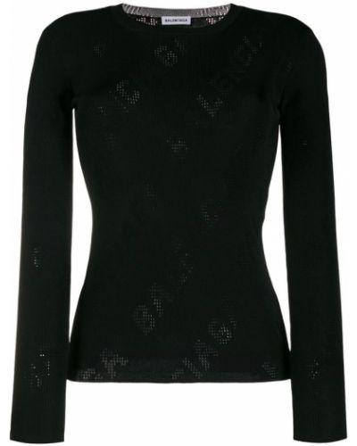 Sweter z wiskozy Balenciaga