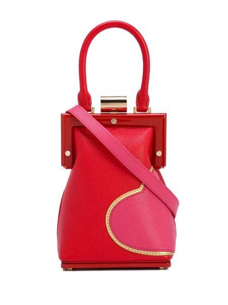 Розовая сумка на плечо Perrin Paris