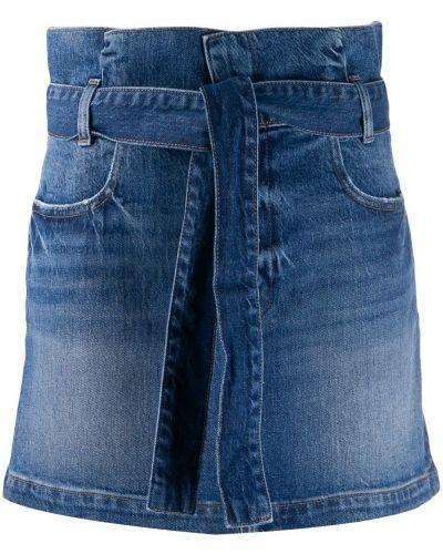 Джинсовая юбка пачка с карманами Frame