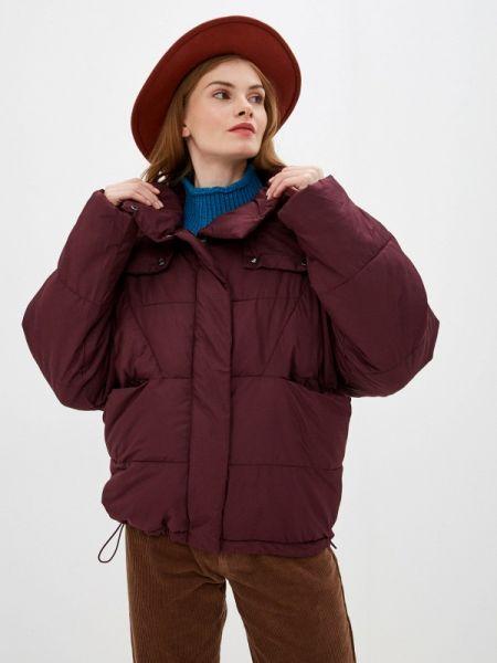 Утепленная куртка - красная Nice & Chic